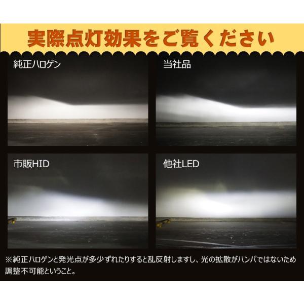 送料無料次世代純白光炸裂 『ブラックナイト2』 LEDヘッドライト 8000LM美白光 H4 Hi/Lo LEDフォグランプ H1 H3 H7 H8 H11 H16 HB3 HB4 選択可能 1年保証|vourvoir2|04
