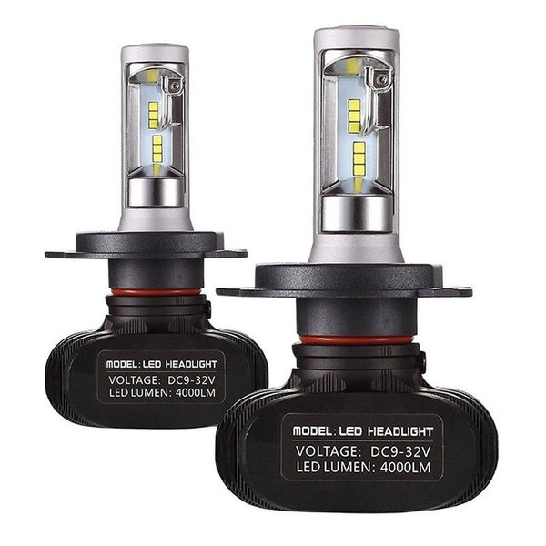 送料無料 LEDヘッドライト フォグランプ H4 Hi/Lo 車検対応 切替タイプ 50W 8000LM 6500K ホワイト 一体型 CSPソールチップ 保証1年 DC932V 2個セット vourvoir2 02