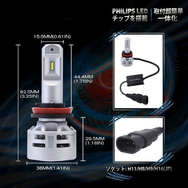 送料無料 H4 Hi/Lo 一体型LEDヘッドライト車検対応 60w(30wx2) 10000lm(5000lmx2) 6500K DC1224V 内臓ファン TX CSPチップ搭載 360°発光 1年保証 DDM|vourvoir2|14