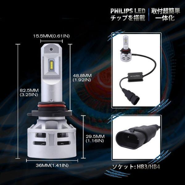 送料無料 H4 Hi/Lo 一体型LEDヘッドライト車検対応 60w(30wx2) 10000lm(5000lmx2) 6500K DC1224V 内臓ファン TX CSPチップ搭載 360°発光 1年保証 DDM|vourvoir2|16