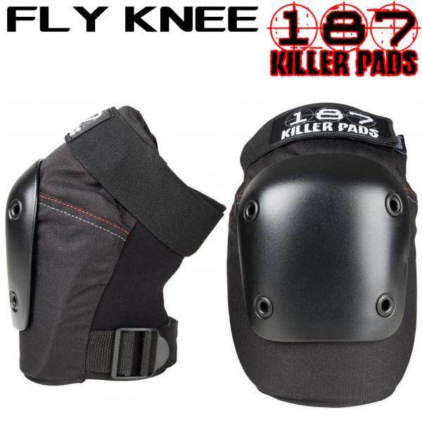 キラーパッド 187 KILLER PAD 男女兼用 プロテクター FLY KNEE メンズ レディース フライ ニーパッド スケートボード スケボー  保護具 防具 膝 ヒザ ひざ