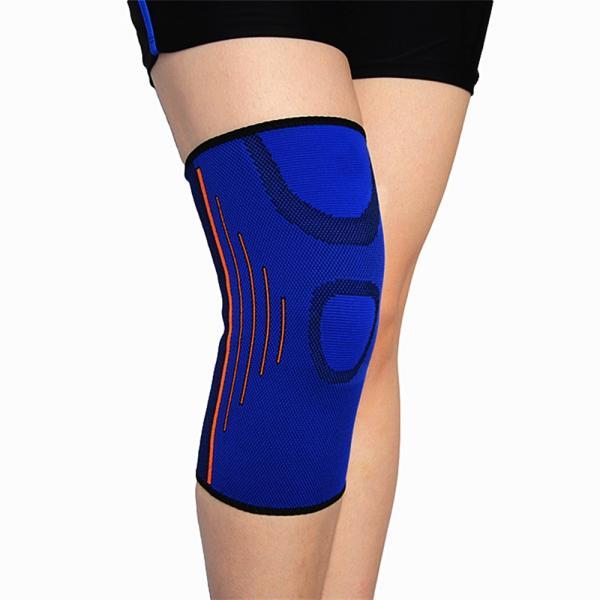膝用サポーター 膝スリーブ サイドライン フリーサイズ 男女兼用 左右兼用 1枚(A01788)|vpc|07