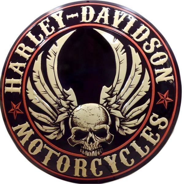 Vs66 harley davidson flying skull button voltagebd Choice Image
