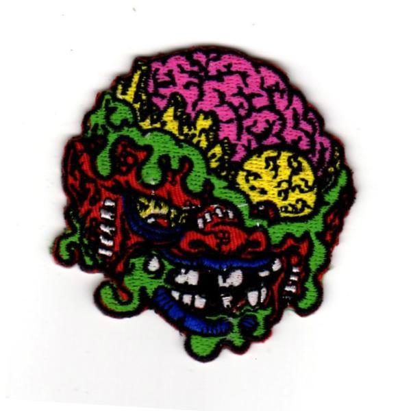 ワッペン MADBALLS マッドボール (カラフル) モンスター アイロン パッチ キャラクター 雑貨 カスタム グッズ 男の子 女の子