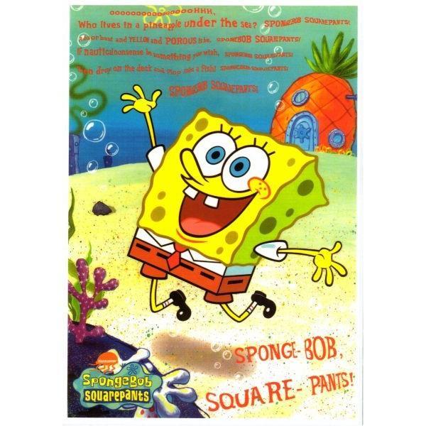 SpongeBob スポンジボブ ミニポスター  ポスター ニコロデオン グッズ インテリア アメキャラ キャラクター アメリカン 雑貨 かわいい おしゃれ