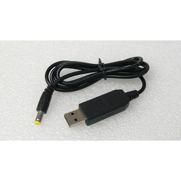 USB DC9Vブースター 5.5/2.1mmDCプラグ付き 送料216円・ポスト投函 (商品番号2169-2701) vshopu-2 02