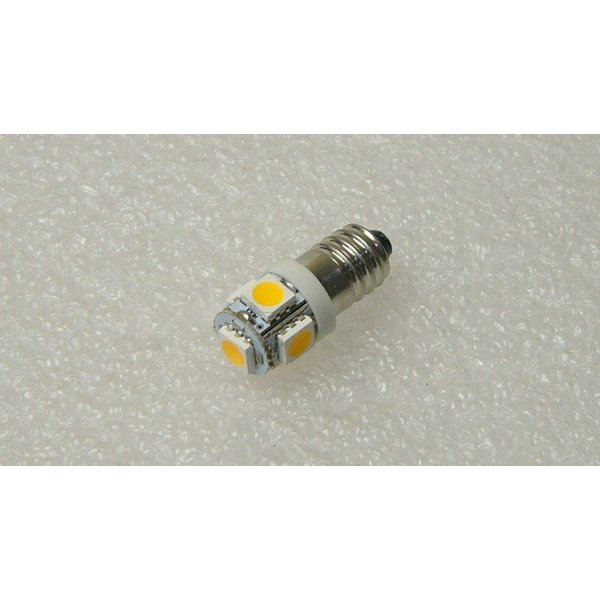 LED豆電球 3V 電球色 5LED 口金サイズE10 全国一律送料216円・ポスト投函 (商品番号217X-2101)|vshopu-2|02