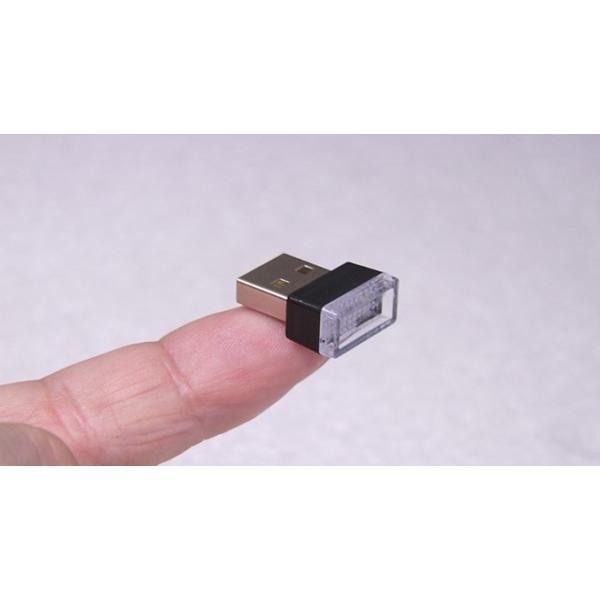 超小型 USBライト White 全国一律送料216円・ポスト投函 (商品番号2195-1101)|vshopu-2|04