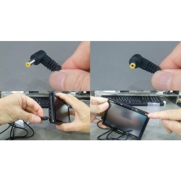 ゴリラの充電に。USB電源ケーブル 4.0/1.7mm L型 長さ1m 全国一律送料216円・ポスト投函 (商品番号2199-1401)|vshopu-2|04