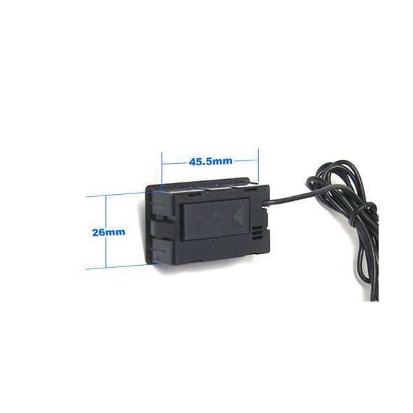 デジタル温度計(外部センサー式) ブラック  小型温度計 電子工作|vshopu|04