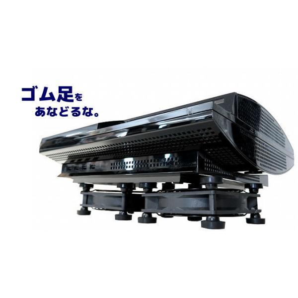 BIGFAN-120U-FOOT(ゴム足付き・強/切/弱スイッチ付き・延長コネクタ付き) USBファン USB扇風機 サーキュレーター 電子工作|vshopu|04