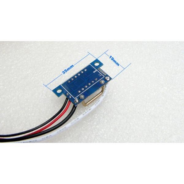 デジタル電流計モジュール DC10A (ミニ・赤) 電子工作|vshopu|06