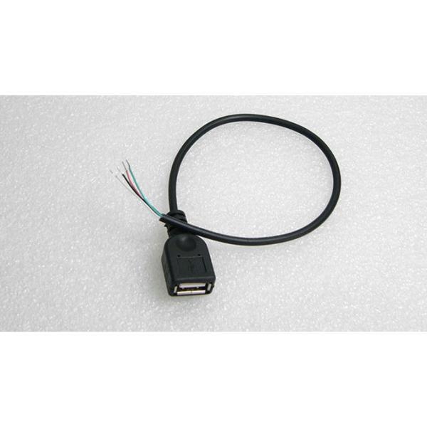 USB A(メス)コネクタ付きケーブル(30cm) 電子工作|vshopu|03