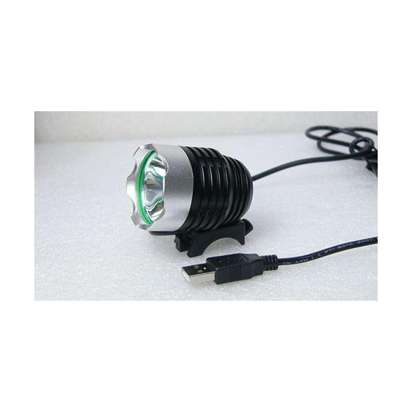 USBサイクルライト CREE XM-L T6 3-Mode LEDライト|vshopu|06