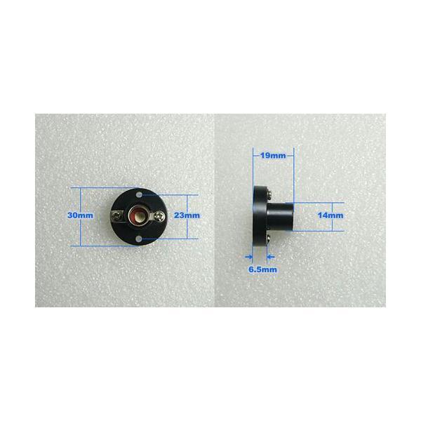 豆電球ソケット【丸型ベース付き】 口金E10用 黒 電子工作|vshopu|06