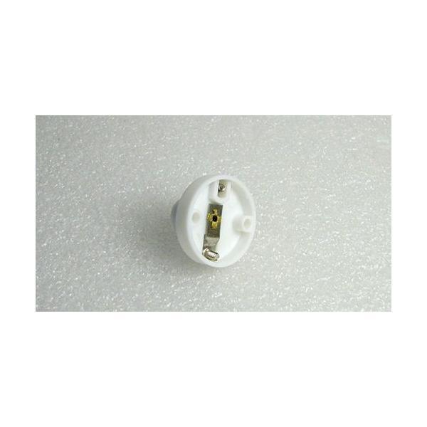 豆電球ソケット【丸型ベース付き】 口金E10用 白 電子工作 vshopu 05