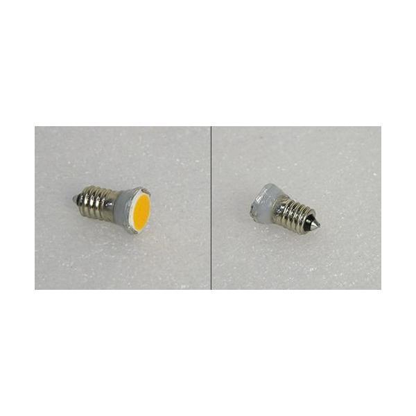 自転車ダイナモ用 COB LED豆電球(14mm径) AC6V〜9V 電球色 口金サイズE10|vshopu|03