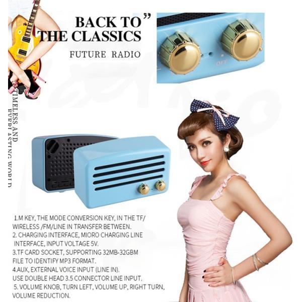 Retro Portable Bluetooth Speaker|vshopu|06