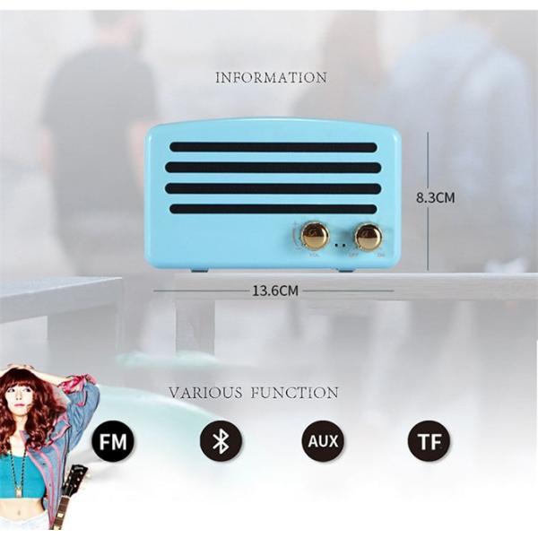 Retro Portable Bluetooth Speaker|vshopu|07