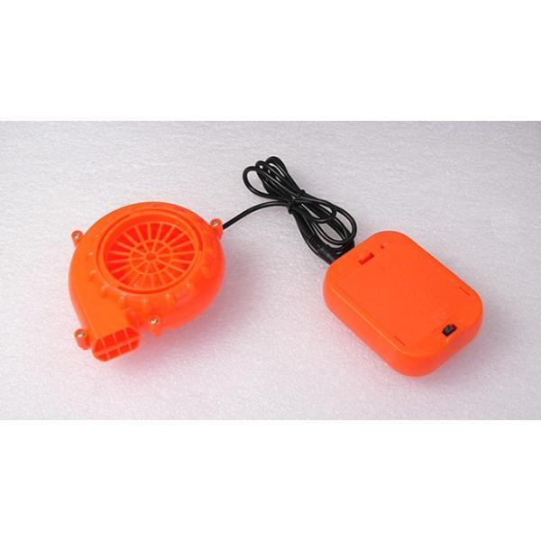 着ぐるみ用 強力ファン 電池ボックス付き オレンジ vshopu 02