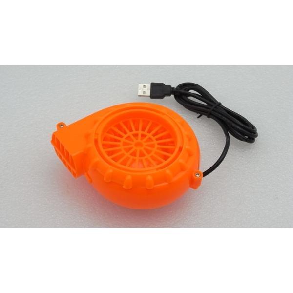 着ぐるみ用 強力ファン 電池ボックス付き オレンジ vshopu 03