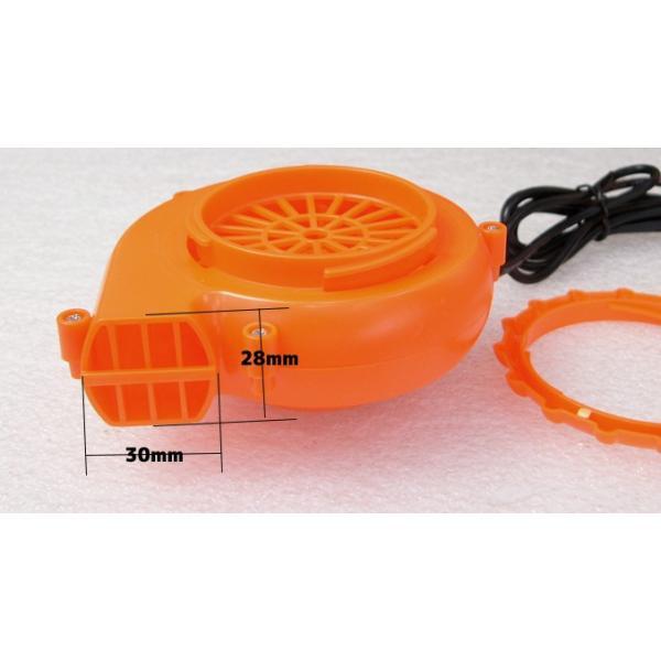 着ぐるみ用 強力ファン 電池ボックス付き オレンジ vshopu 04