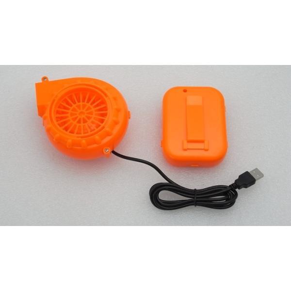着ぐるみ用 強力ファン 電池ボックス付き オレンジ vshopu 06