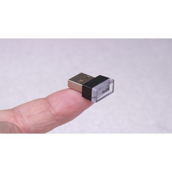 超小型 USBライト White|vshopu|02