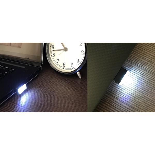 超小型 USBライト White|vshopu|03