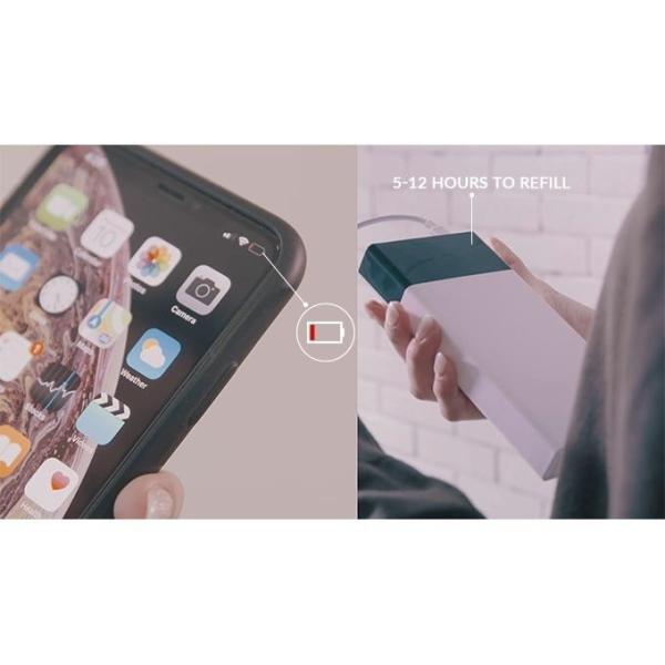 スマホ 急速充電器 Apollo Traveller モバイルバッテリー 5000mAh 急速充電 超速 軽量 iphone android 18分で充電できる コンパクト|vt-web|12