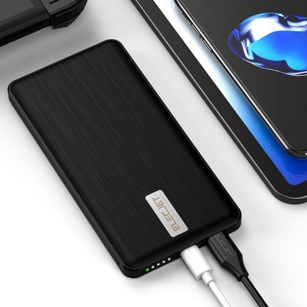 スマホ 急速充電器 Apollo Traveller モバイルバッテリー 5000mAh 急速充電 超速 軽量 iphone android 18分で充電できる コンパクト|vt-web|10
