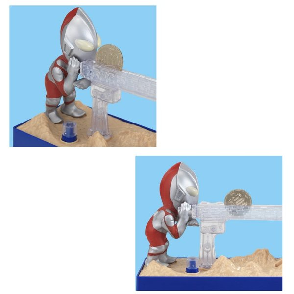 貯金箱 500円玉 かわいい おもしろ ウルトラマンバンク 貯金箱 シャイン いたずらBANK おもちゃ おこづかい 小銭|vt-web|05