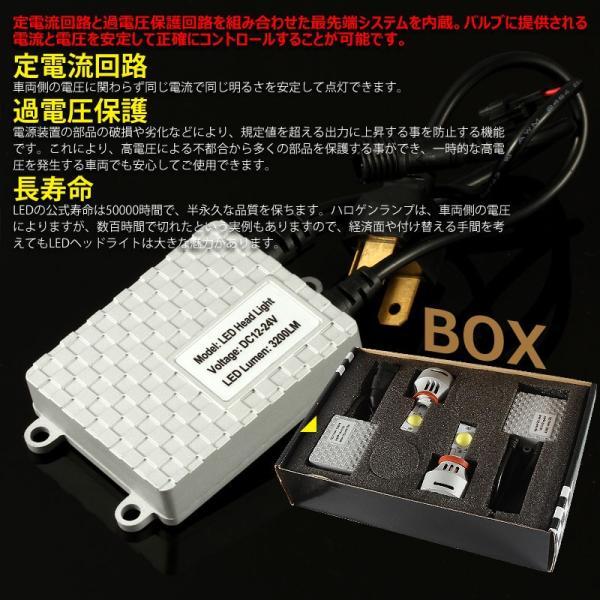 アルファード10系 フォグランプ 安心1年保証 3200LM LED 6000k  LEDヘッドヘッドライト 冷却ファン搭載 CREE製 XMT-G2チップ  HB4 vulcans 03
