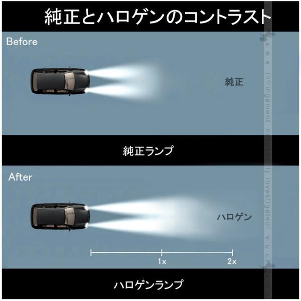 ハロゲン バルブ ランプ H4 12V 55W 2P ゴールデンイエローカラー アイドリングストップ車対応 アンバー ヘッドライト フォグランプ 汎用 車 バイク|vulcans|04