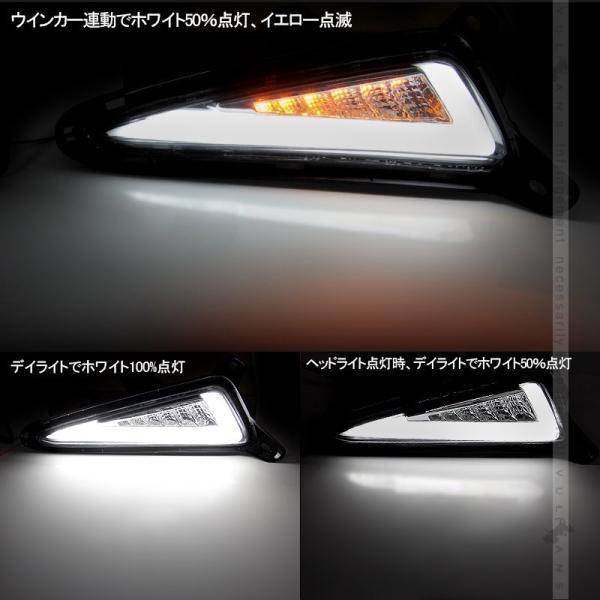 COB LEDデイライト ウインカーに連動 取説付 C-HR ハロゲン車専用 LEDランプ CHR 電装 用品 外装 パーツ カスタム エアロ アクセサリー chr c-hr カー用品|vulcans|07