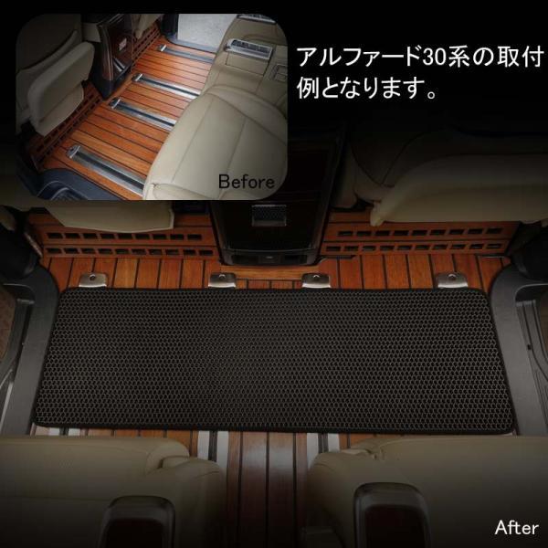 汎用 セカンドラグマット EVA素材 2列目 120CM×40CM 汚れ防止 カー用品 スライドレール カーマット フロアマット 車用品 内装 パーツ NBOX ヴォクシー80系|vulcans|12
