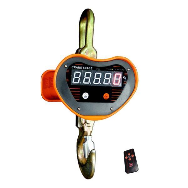 クレーンスケール 充電式 デジタル 吊秤 吊りはかり 5t(5000kg)リモコン付 5トン