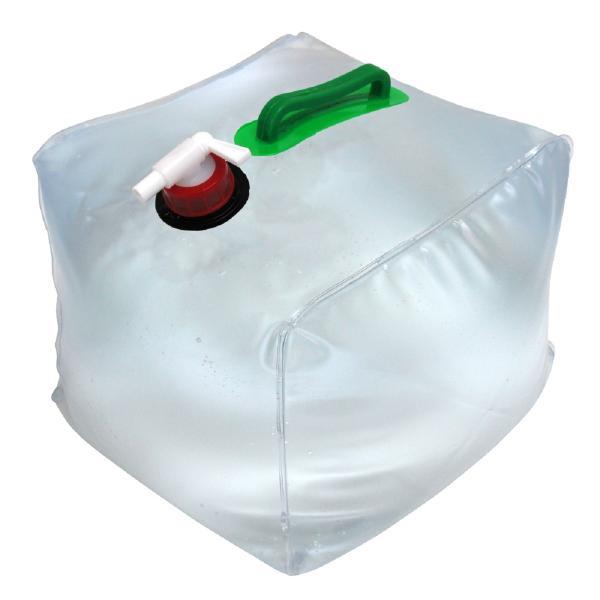 ウォータータンク 20L 10個セット 折りたたみ 貯水タンク 給水 コック付 防災グッズ 非常用給水袋