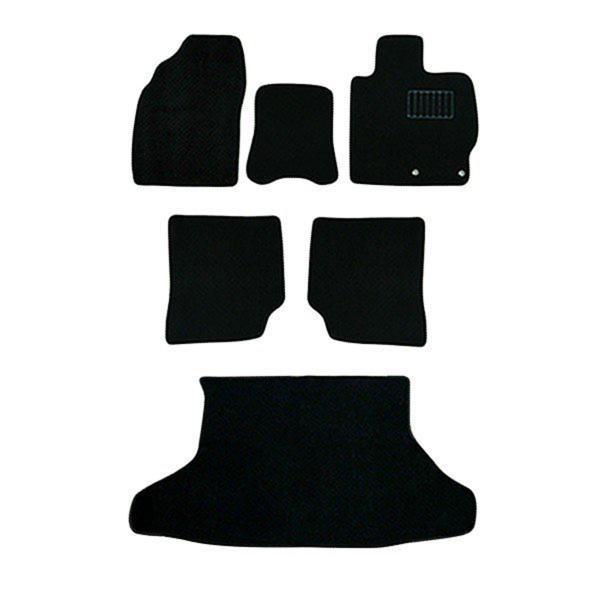 プリウス 30系 フロアマット floormat カーマット 車内用マットセット  黒 ブラック