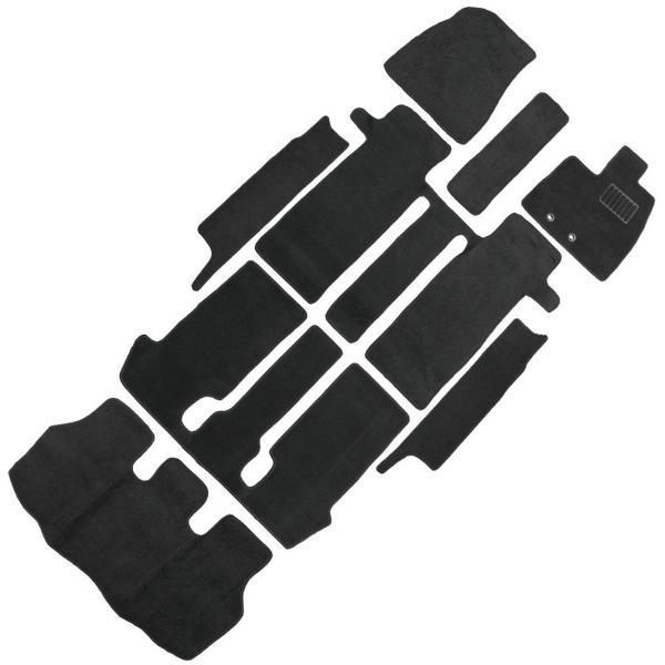 ヴォクシー ノア エスクァイア 80系 フロアマット floormat カーマット 車内用マットセット  ZRR80系  ガソリン車 7人乗り 8点セット
