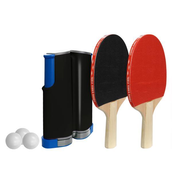 家庭用卓球セットピンポンテーブルテニスラケットボール簡単設置卓球ネット