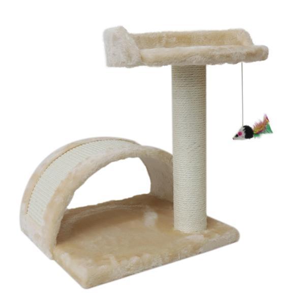 爪とぎ 猫 麻 アスレチック型 猫用 ネコ つめとぎ 爪研ぎ  おしゃれ  猫グッズ トンネル キャットタワー おもちゃ