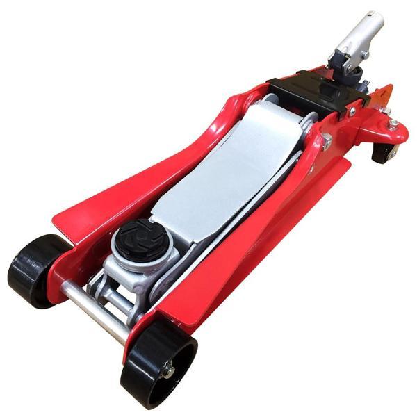 ガレージジャッキ 2.25t フロアジャッキ 低床 ローダウン ジャッキアップ 油圧ジャッキ 最低85mm 車修理 自動車 メンテナンス
