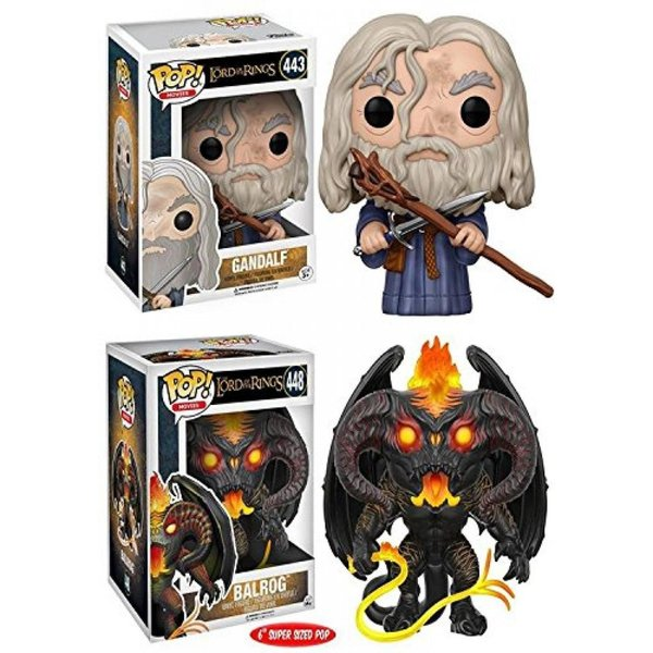 Funko POP! The Lord Of The Rings: Gandalf + Balrog 6