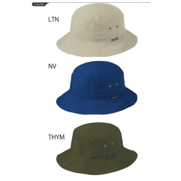 ハット アウトドア  帽子 速乾性 トレッキング[モンベル mont-bell] クラッシャーハット 無地 /1108923|w-w-m|02