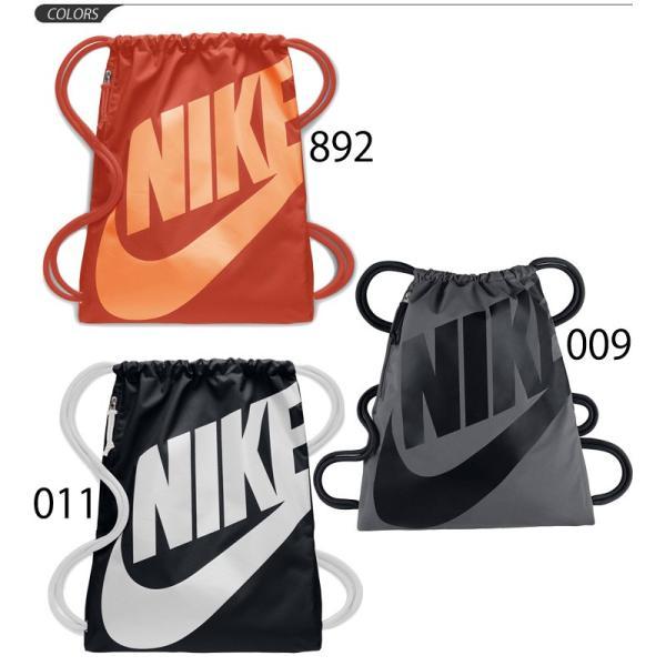 ナップサック NIKE ナイキ ヘリテージ ジムサック スポーツバッグ かばん 巾着 ビッグロゴ マルチパック ランドリー・シューズバッグ/BA5351 w-w-m 02