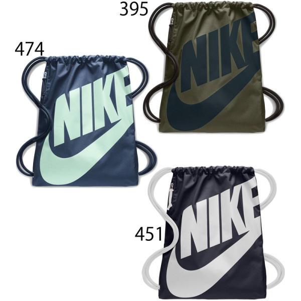 ナップサック NIKE ナイキ ヘリテージ ジムサック スポーツバッグ かばん 巾着 ビッグロゴ マルチパック ランドリー・シューズバッグ/BA5351 w-w-m 03