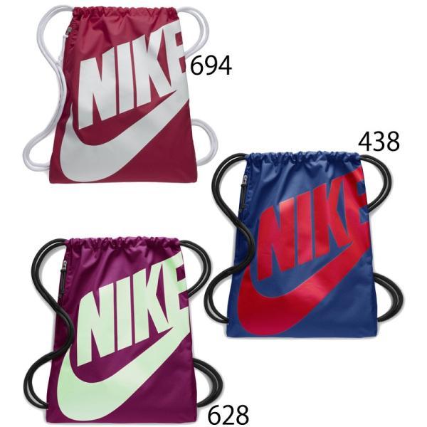 ナップサック NIKE ナイキ ヘリテージ ジムサック スポーツバッグ かばん 巾着 ビッグロゴ マルチパック ランドリー・シューズバッグ/BA5351 w-w-m 04