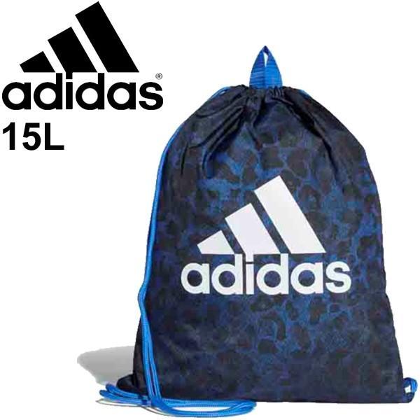 ジムサック メンズ レディース ジュニア/アディダス adidas ビッグロゴ ジムバッグ GR3 15L/スポーツバッグ/ECE04|w-w-m
