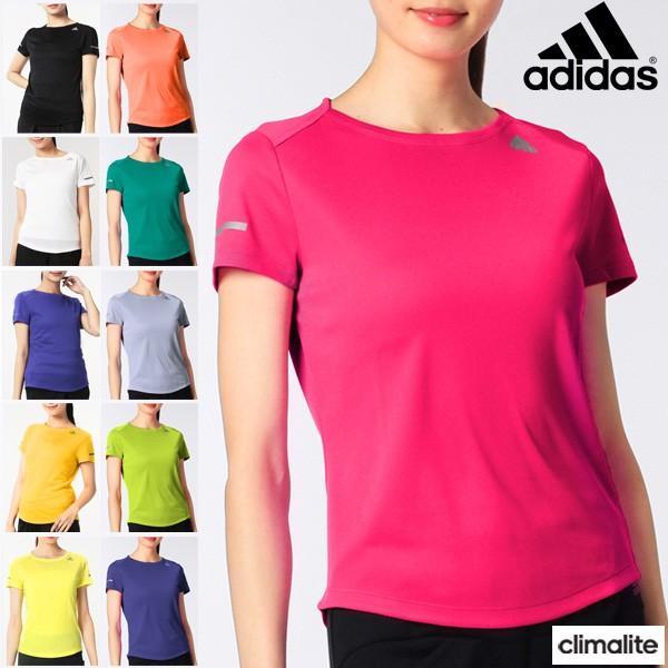 アディダス adidas/レディース 半袖Tシャツ/ランニングウェア/スポーツ トレーニング  フィットネス ヨガ ジム 婦人・女性用/[メール便OK] RKap/ITQ13|w-w-m